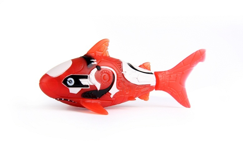 Zuru robo fish red shark images at mighty ape australia for Zuru robo fish