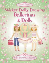 Sticker Dolly Dressing - Ballerinas and Dolls by Leonie Pratt