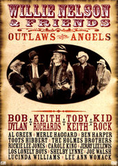 Willie Nelson And Friends - Outlaws And Angels on DVD