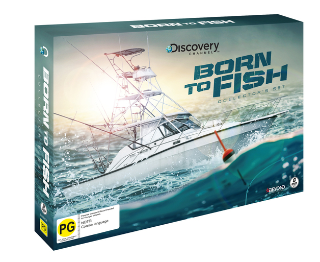 Born to Fish Collector's Set on DVD