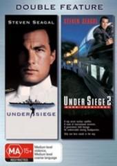 Under Siege / Under Siege 2 - Double Feature (2 Disc Set) on DVD