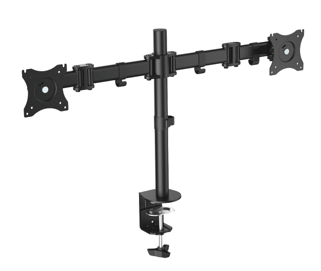 "OMP Desk Mount Twin Arm 13-27"" Monitor Vesa 75/100 Mount"