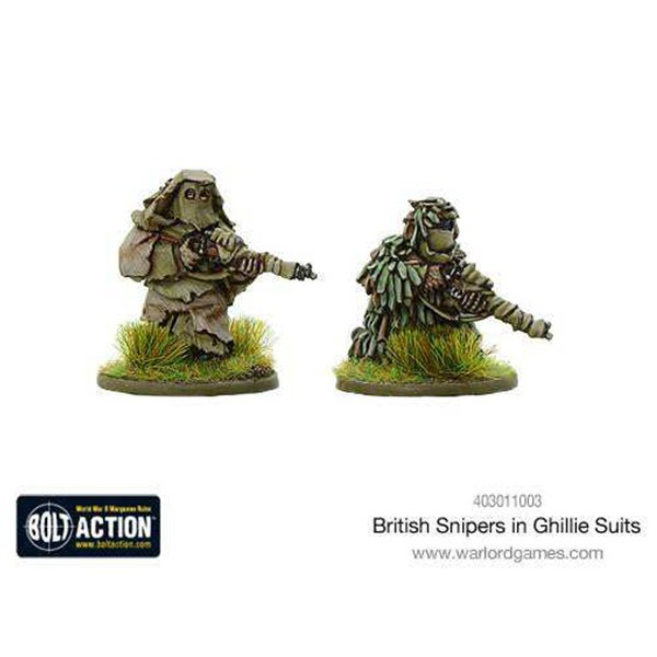 British Snipers in Ghillie Suits image