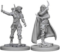 Pathfinder Deep Cuts: Unpainted Miniature Figures - Human Female Rogue