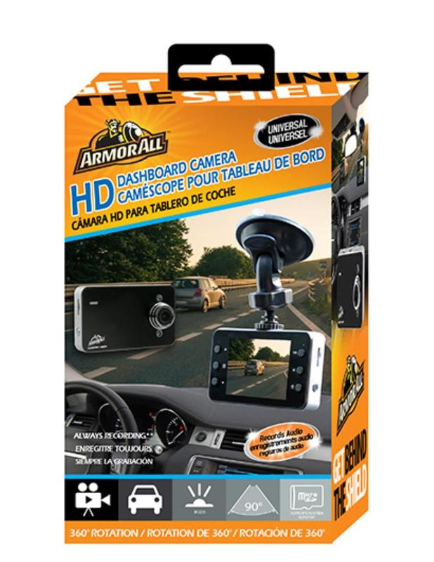 Armor All: Universal HD Dashboard Camera