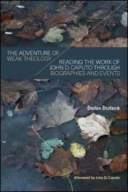 The Adventure of Weak Theology by Stefan Stofanik