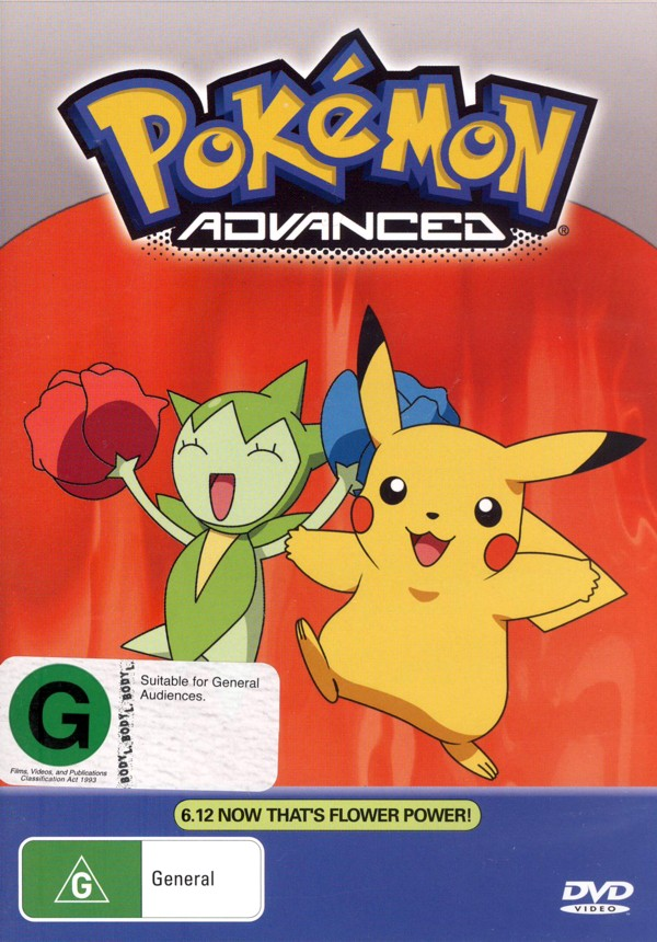 Pokemon - Advanced 6.12 / 6.13 (2 Disc Set) on DVD image