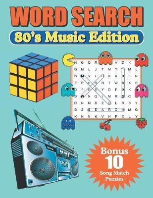 Word Search 80's Music Edition by Greater Heights Publishing image
