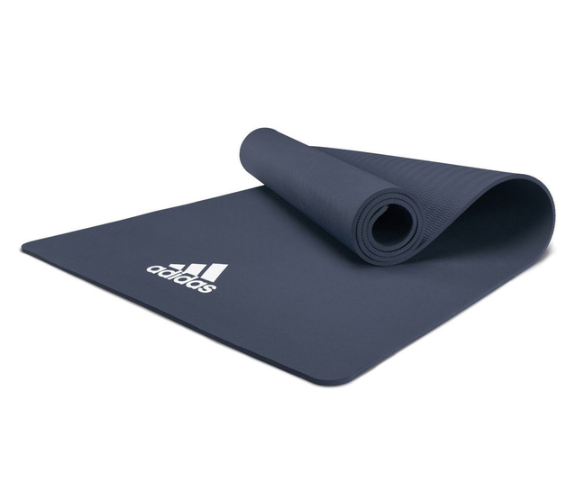 Adidas 8mm Yoga Fitness Mat - Trace Blue
