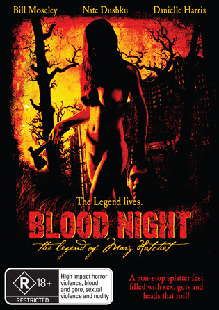 Blood Night: The Legend of Mary Hatchet on DVD