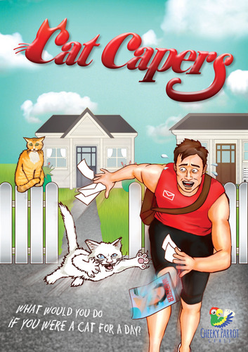 Cat Capers - Card Game image