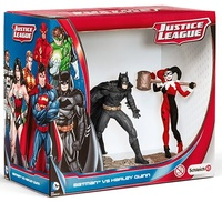 Schleich: Batman vs. Harley Quinn Scenery Pack
