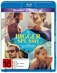 A Bigger Splash on Blu-ray
