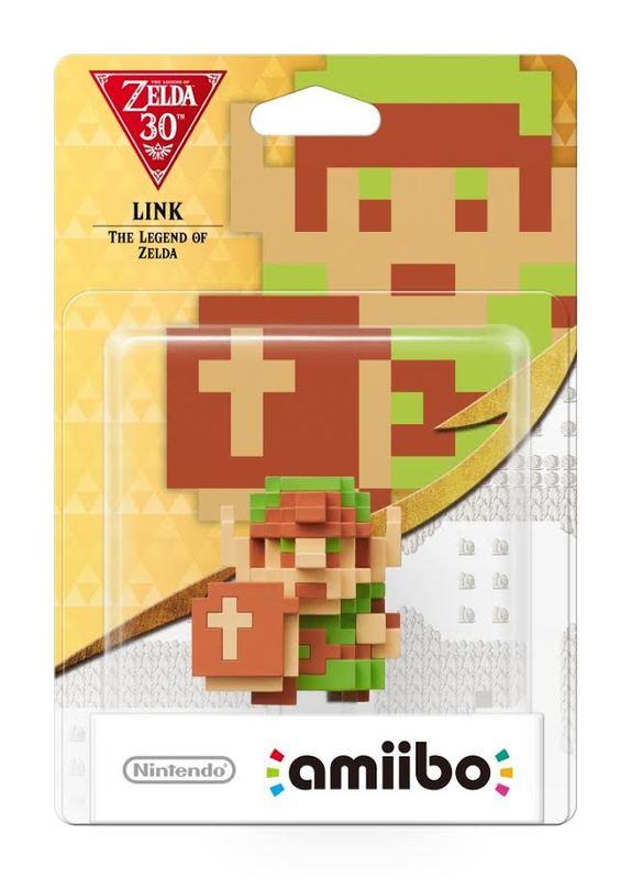 Nintendo Amiibo 8-Bit Link - Zelda Collection for Wii U