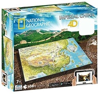 National Geographic: Ancient China 4D Puzzle (600pc)
