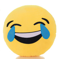 Tears of Joy Emoji Cushion - 34cm