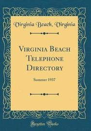 Virginia Beach Telephone Directory by Virginia Beach Virginia image