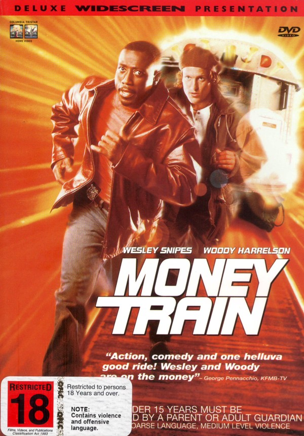Money Train on DVD image
