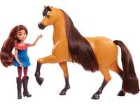 Spirit: Collector Doll & Horse Set - Lucky & Spirit