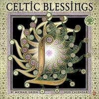 Celtic Blessings 2020 Wall Calendar by Michael Green