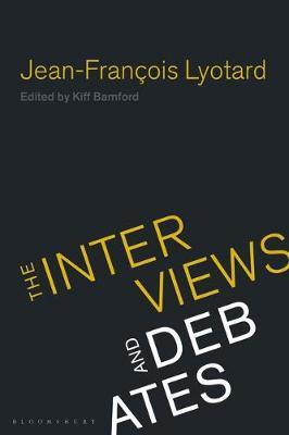 Jean-Francois Lyotard by Jean-Francois Lyotard