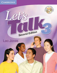 Let's Talk Student's Book 3 with Self-study Audio CD: 3 by Leo Jones image