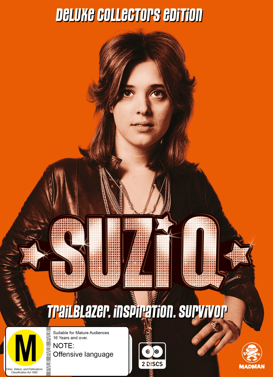 Suzi Q on DVD image