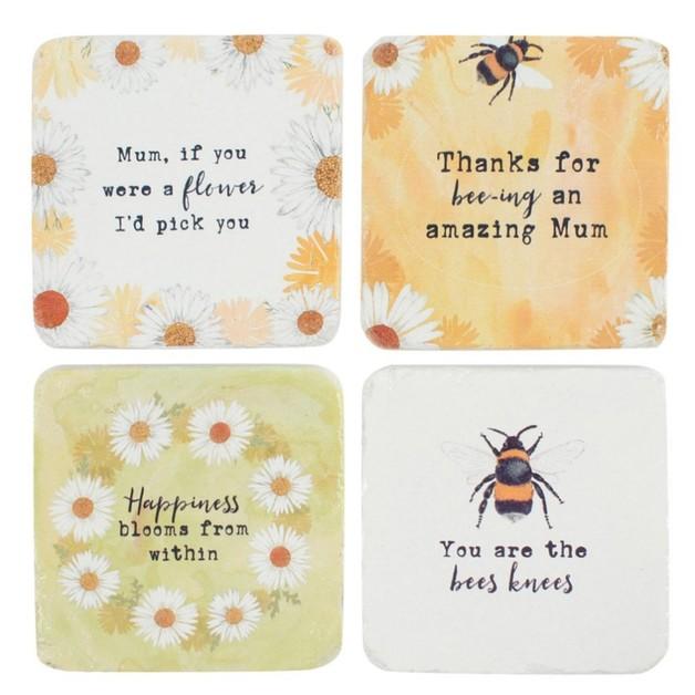 Bee-Utiful Coasters