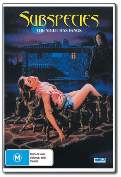 Subspecies: The Night has Fangs on DVD
