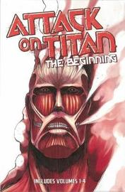 Attack on Titan: the Beginning Box Set (Vol 1-4) by Hajime Isayama