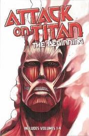 Attack on Titan: the Beginning Box Set (Vol 1-4) by Hajime Isayama