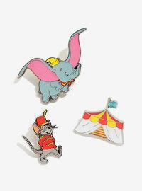 Loungefly: Enamel Pin Set - Dumbo