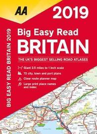 AA Big Easy Read Atlas Britain 2019 by AA Publishing