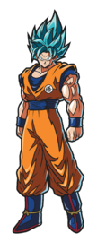 Dragonball Fighter Z: SSGSS Goku (#116) - FiGPiN image