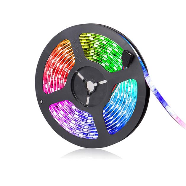 RGB LED Light Strip 5050 LED - 10m | at Mighty Ape NZ