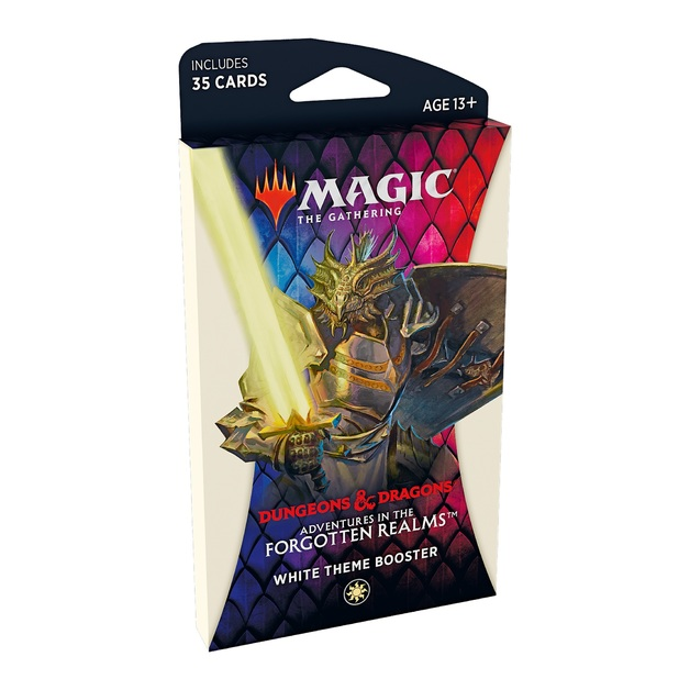 Magic The Gathering: Adventures in the Forgotten Realms Theme Booster - White