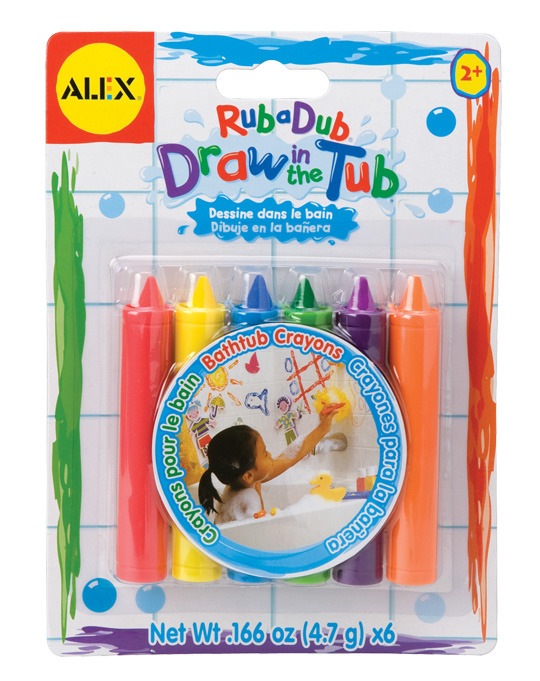 Alex: Draw In The Tub Crayons image