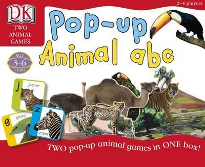Pop-up Animal ABC: Two Pop-up Animal Games in One Box image