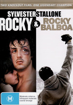 Rocky / Rocky Balboa (2 Disc Set) on DVD
