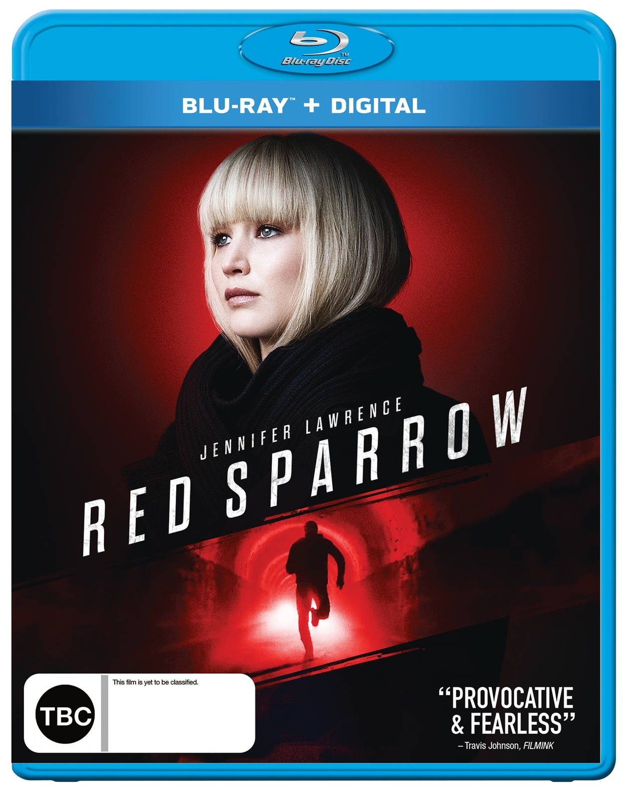 Red Sparrow on Blu-ray image