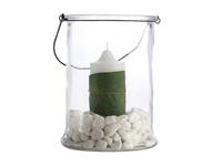 Casa Domani Vetro Hurricane Glass Lantern Vase - 25cm