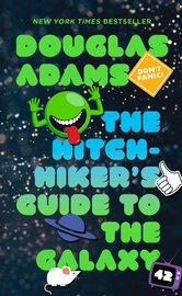 The Hitchhiker's Guide to the Galaxy (Book 1) by Douglas Adams image