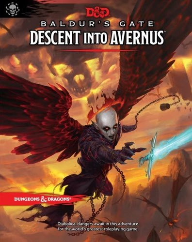 Dungeons & Dragons Descent into Avernus by Wizards RPG Team