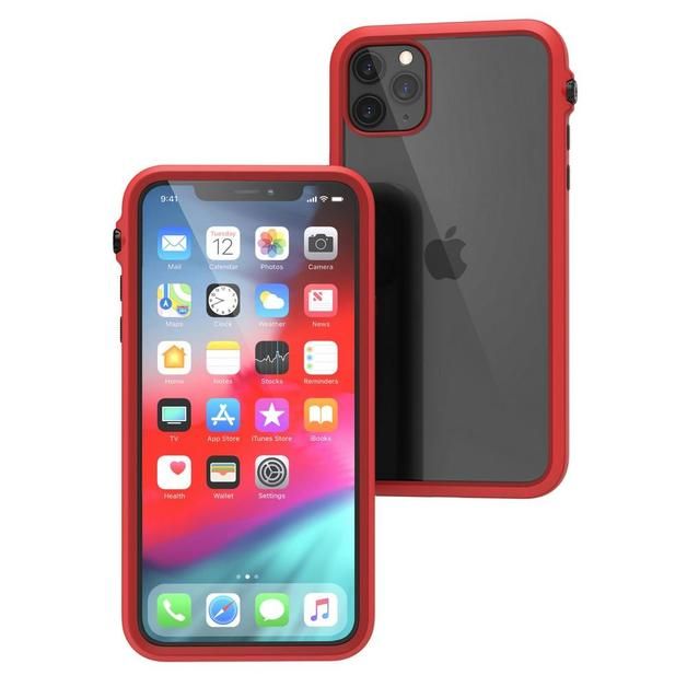 Catalyst: Impact Protection Case for iPhone 11 Pro Max (Black/Red)