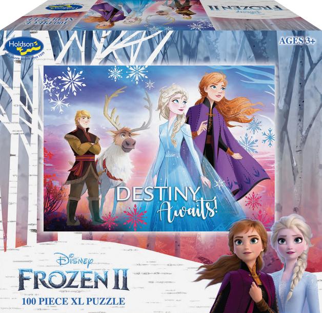 Holdson XL: 100 Piece Puzzle - Frozen 2 (Destiny Awaits)