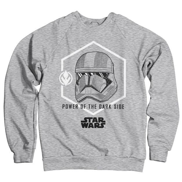 Star Wars IX: Trooper Power Sweatshirt - Heather Grey (Large)