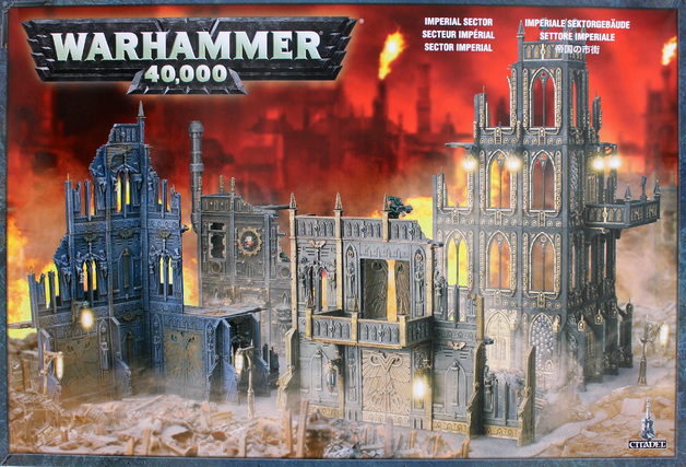 Warhammer 40,000 Imperial Sector Model Kit