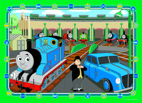Thomas & Friends 35 Piece Frame Tray Puzzle - Thomas
