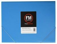 FM A4 Vivid Document Wallet - Ice Blue