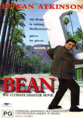 Mr Bean - The Ultimate Disaster Movie on DVD